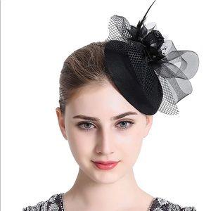 Women's Fascinator Feather Derby Hat New